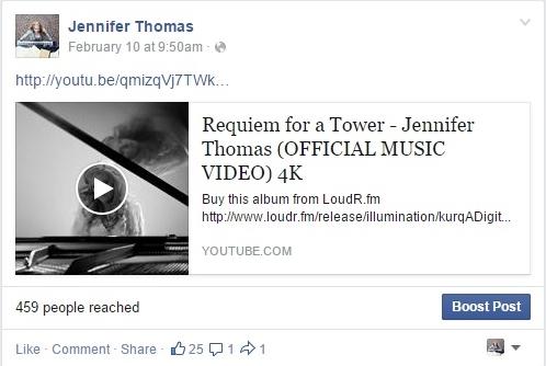FB link alone music video